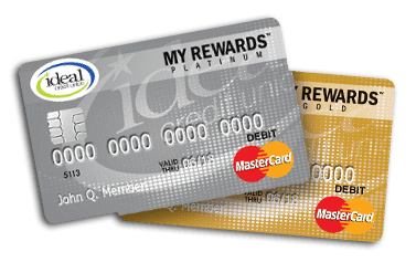 Debit Rewards Program Ideal Credit Union